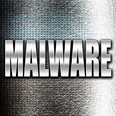 adware: Grunge metal Malware removal background with some soft smooth lines