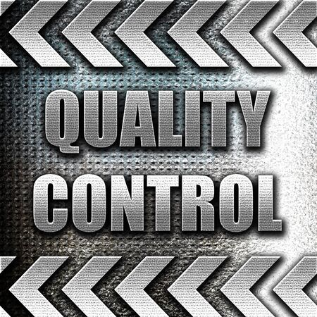 ratified: Grunge metal Quality control background with some soft smooth lines Stock Photo