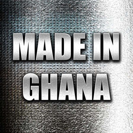ghanese: Grunge metal Made in ghana with some soft smooth lines