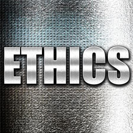 conscience: Grunge metal ethics