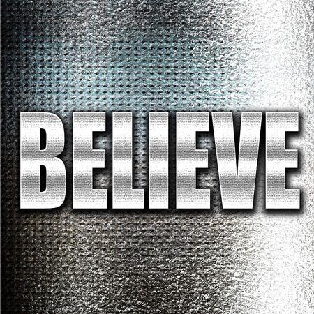 Grunge metal believe