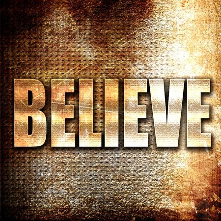 believe: de metal grunge creen