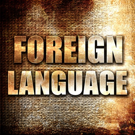 foreign: Grunge metal foreign language
