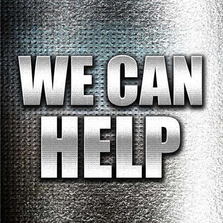 can we help: Grunge metal we can help