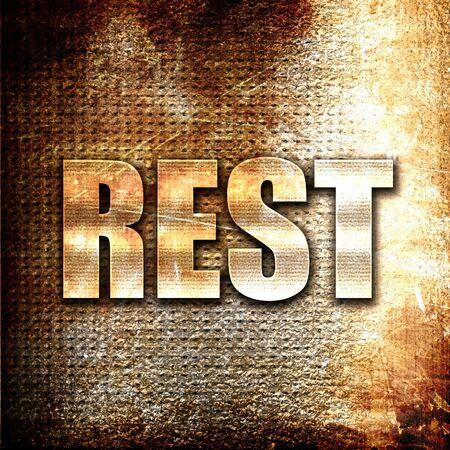 unwind: Grunge metal rest