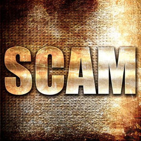 scamming: Grunge metal scam