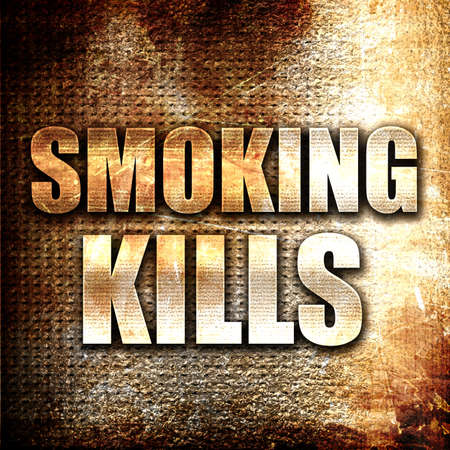 killing cancer: Grunge metal smoking kills