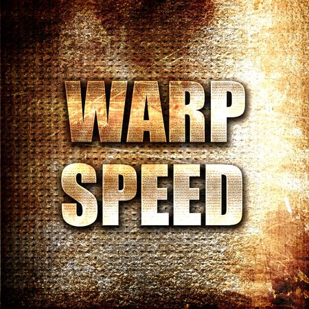 warp speed: Grunge metal warp speed