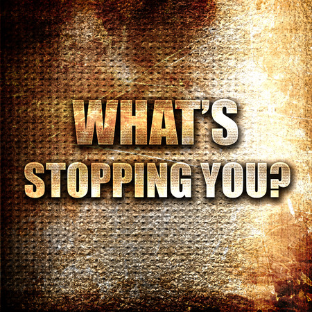 stopping: Grunge metal whats stopping you