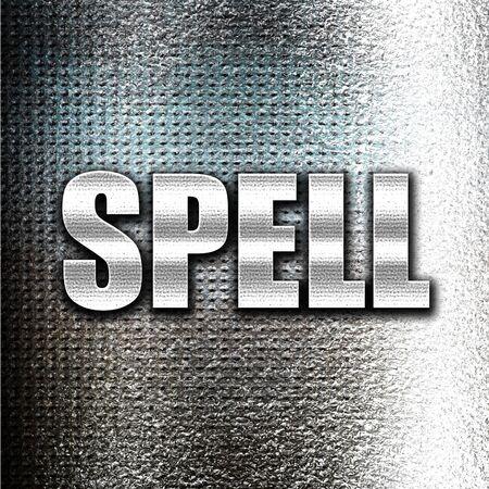 spell: Grunge metal spell