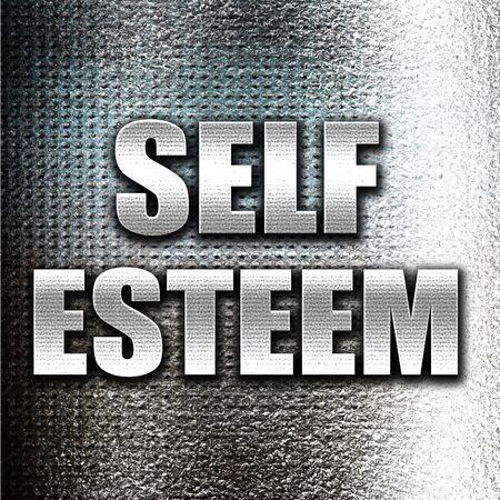 self worth: Grunge metal self esteem