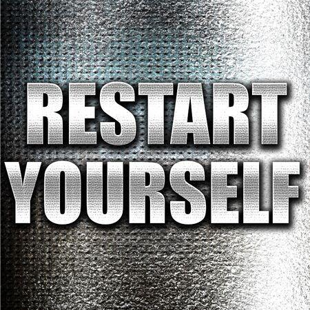yourself: Grunge metal restart yourself