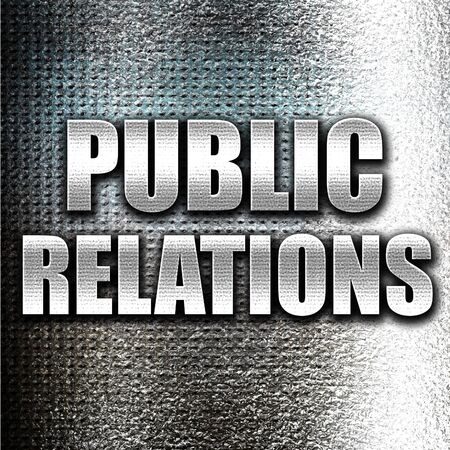 relaciones publicas: relaciones p�blicas de metal grunge Foto de archivo