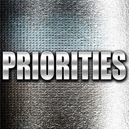priorities: Grunge metal priorities