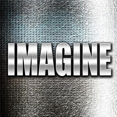 dreamer: Grunge metal imagine Stock Photo