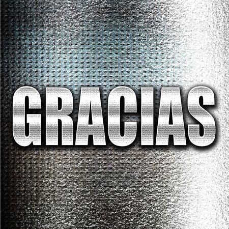 agradecimiento: Gracias metal de Grunge