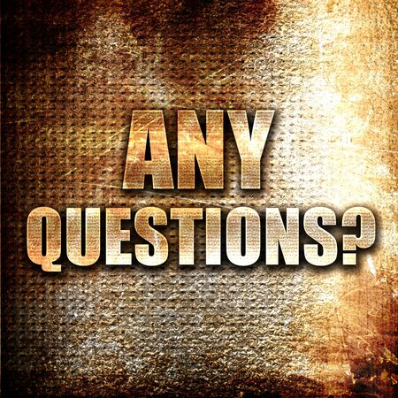 questions: Grunge metal any questions