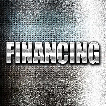 financing: Grunge metal financing