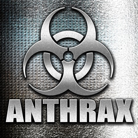 anthrax: Grunge metal Anthrax virus concept background with some soft smooth lines