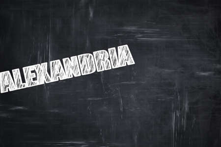 custom letters: Chalkboard background with white letters: Chalkboard background with white letters: alexandria