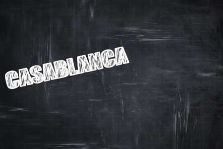 custom letters: Chalkboard background with white letters: Chalkboard background with white letters: casblanca