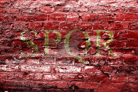 spqr: spqr Foto de archivo