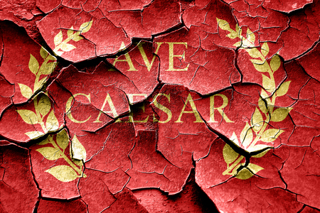 magistrates: ave caesar roman empire with some soft smooth lines Stock Photo