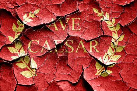 derecho romano: C�sar ave Imperio Romano con unas l�neas suaves suaves Foto de archivo
