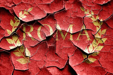 roma: roma with laurel wreath and some soft smooth lines