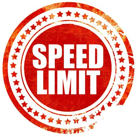 65 70: speed limit, isolated red stamp on a solid white background Stock Photo