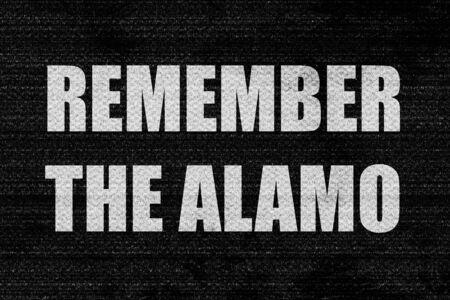 recordar: recuerde el álamo Foto de archivo