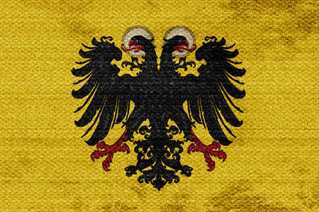 holy roman emperor: Holy roman empire with some soft highlights and folds
