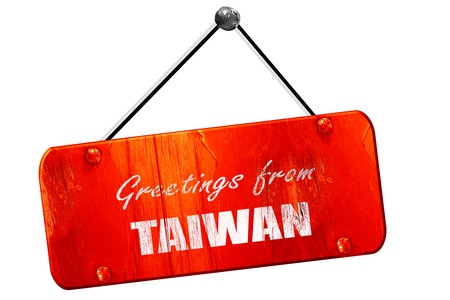 Greetings from taiwan card with some soft highlights 3d rendering greetings from taiwan card with some soft highlights 3d rendering red grunge vintage sign m4hsunfo
