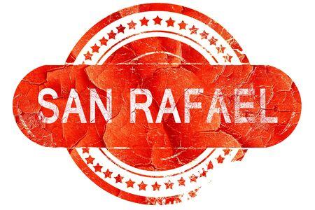 san rafael: san rafael, red grunge rubber stamp on white background Stock Photo