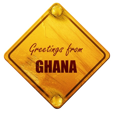 Greetings from ghana card with some soft highlights 3d rendering greetings from ghana card with some soft highlights 3d rendering yellow road sign on m4hsunfo