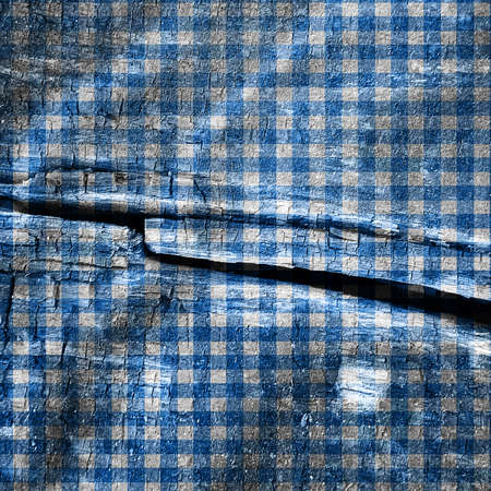 picnic cloth: Blue picnic cloth with some straight lines in it