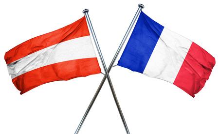 austria flag: Austria flag combined with france flag