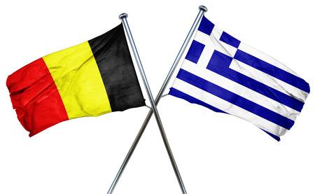 greek flag: Belgium flag combined with greek flag