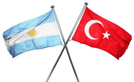turkey flag: Argentina flag combined with turkey flag