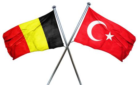 turkey flag: Belgium flag combined with turkey flag