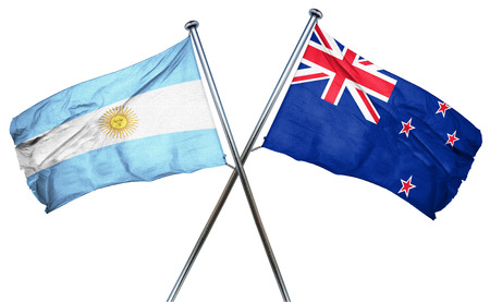 argentina flag: Argentina flag combined with new zealand flag