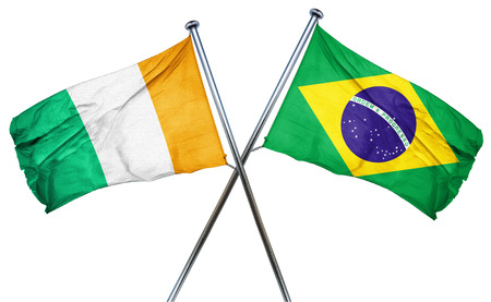 amity: Ivory coast flag combined with brazil flag