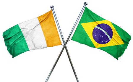 amity: Ivory coast flag combined with brazil flag