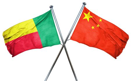 benin: Benin flag combined with china flag