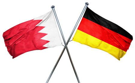 combined: Bahrain flag combined with germany flag