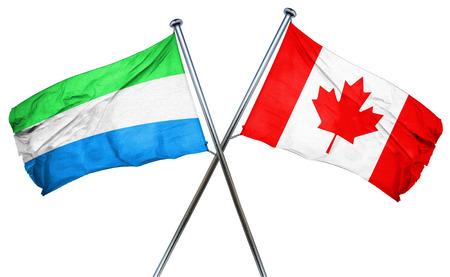 sierra: Sierra Leone flag combined with canada flag