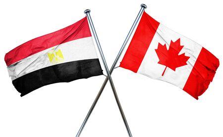 bandera de egipto: bandera de Egipto se combina con la bandera de Canadá