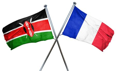 amity: Kenya flag combined with france flag