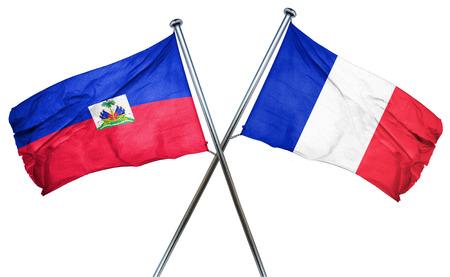 haiti: Haiti flag combined with france flag