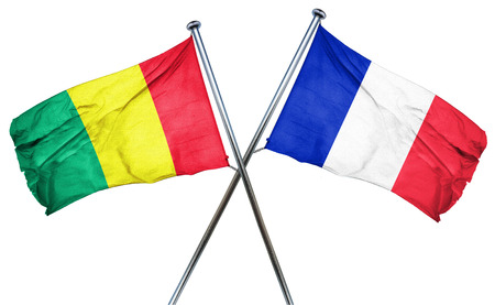treaty: Guinea flag combined with france flag